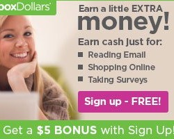 Earn cash for things you already do online