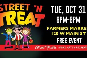 Street N' Treat at Market Square in Grand Prairie TX