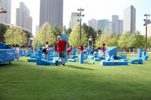 Free Family Experiments at Klyde Warren Park