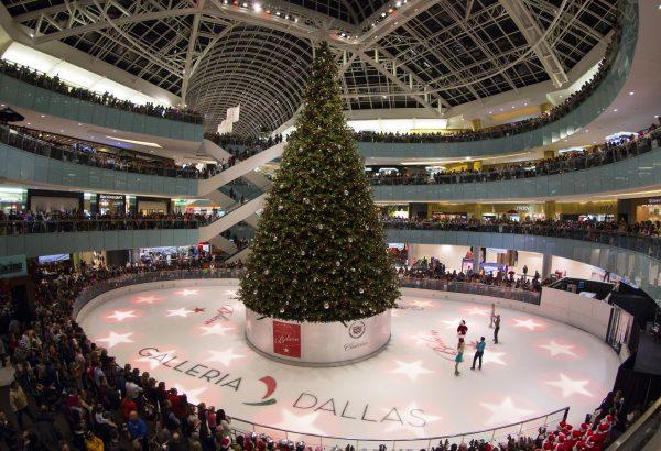 galleria christmas tree