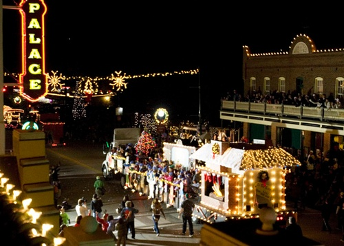 grapevine parade of lights