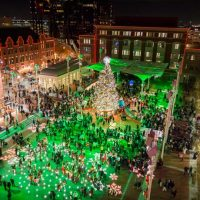 sundance square christmas tree lighting