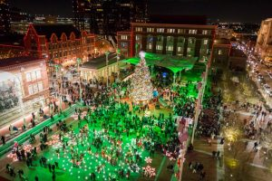 Sundance Square Annual Christmas Tree Lighting