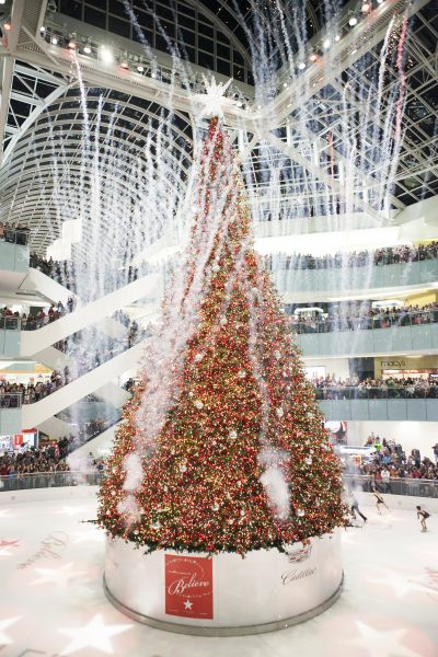 Galleria tree lighting celebration