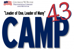 Free Leadership Camp for High School Students at George W. Bush Presidential Library and Museum